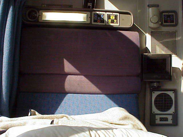 Inside a Viewliner bedroom. More about travel on Amtrak trains at VistaDome com