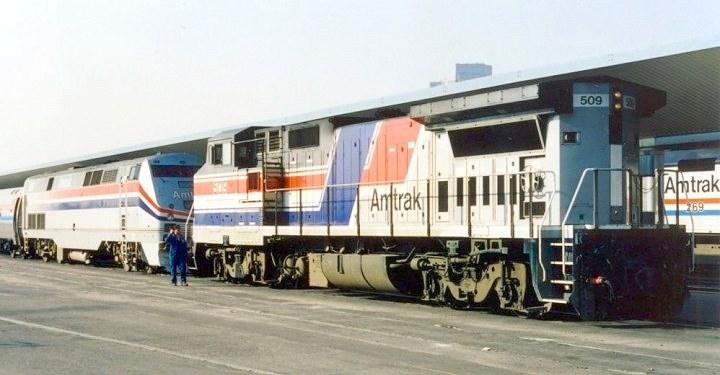 Amtrak Photo Album At Vistadome Com
