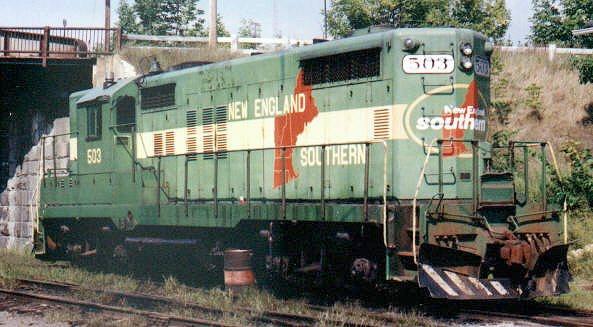 New England Railroad Photo Album At Vistadome Com