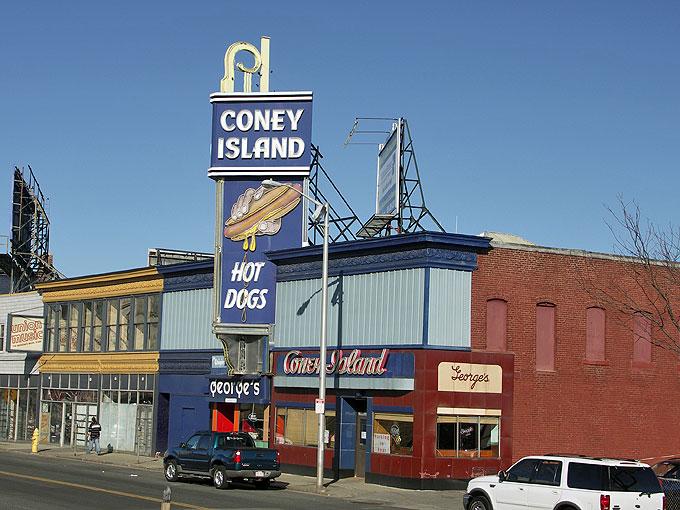Top Dog Coney Island Hours